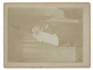 Portret van Johanna Hendrika Maria van Zanten (1878-1960) en Andreas Louis Willem Lanen (1903-...)