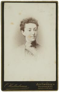 Portret van Maria Kuipers (1865-1889)