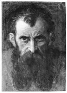 Hoofd van een man met baard