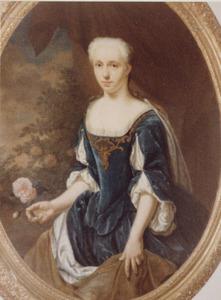 Portret van mogelijk Anna Catharina Gockinga (1709- )