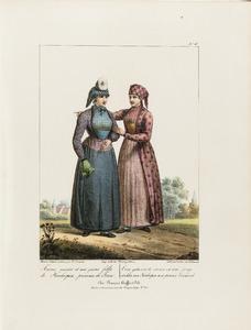 Een getrouwde en jonge vrouw uit Hindelopen