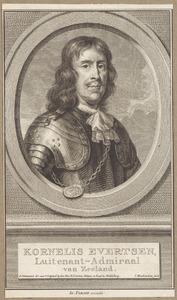Portret van Cornelis Evertsen (1610-1666)