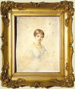 Portret van Catharina Roberdina Jacoba Twent (1817-1868)