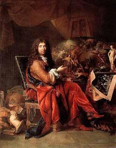 Portret van Charles Le Brun