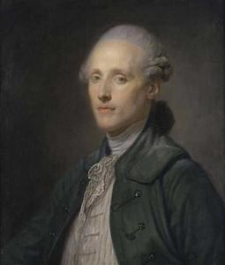 Portret van Jean-Antoine-Hubert Vassal de Saint-Hubert (1741-1782)