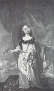 Portret van Elisabeth Berns (1637-1663)