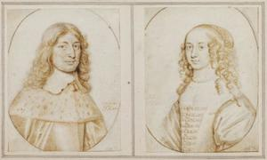 Friedrich Wilhelm von Brandenburg en zijn echtgenote  Louise Henriette van Nassau