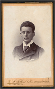 Portret van Pieter Blusse van Oud-Alblas (1874-1947)