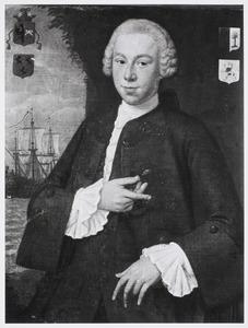 Portret van Hendrik van Staveren (1734-1777)