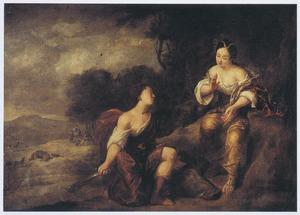 Meleager schenkt Atalanta de kop van het Caledonische everzwijn