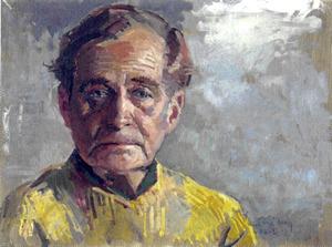 Portret van Adriaan Roland Holst (1888-1976)