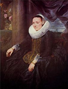 Portret van Margaretha de Vos