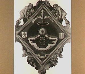 Blazoen van de Dordrechtse rederijkerskamer 'de Fonteynisten'