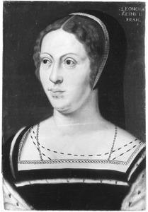 Portret van Eleonora van Oostenrijk (1498-1558), koningin van Frankrijk