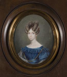 Portret van Arnoldina Wilhelmina Cornelia barones van Pallandt (1801-1860)