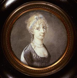 Portret van Theodora Jordens ( -1807)