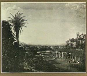 De suikerfabriek en de plantage van Engenho Real