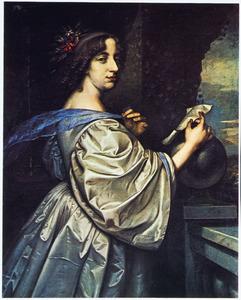 Portret van Koningin Chistina van Zweden (1626-1689)