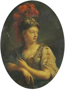 Minerva  in wapenrusting