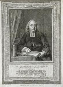 Portret van Jacobus Gerardus Staringh (1717-1804)