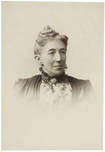 Portret van Cornelia Bicker Caarten (1842-1907)