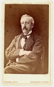 Portret van Adriaan Volkert Teding van Berkhout (1822-1889)