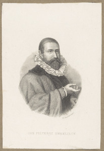 Portret van Jan Pietersz. Sweelinck (1562-1621)