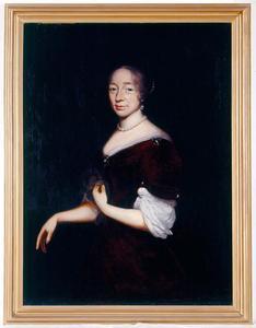 Portret van Janne Margriete van Arnhem (1635-1721)
