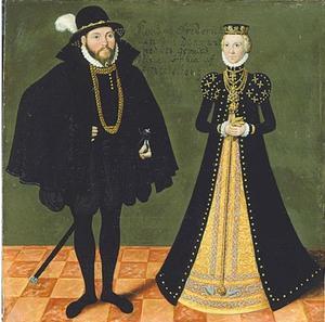 Onbekend Duits vorstenpaar