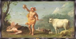 Mercurius met het hoofd van Argus