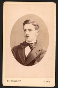 Portret van Otto Johan Willem Carel graaf van Bylandt (1852-1929)