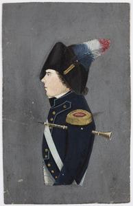 Portret van C. van den Bergh