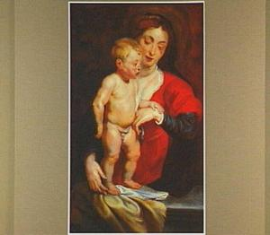 Maria en Jezus als  kind