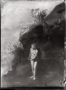 Andromeda aan de rots gekluisterd