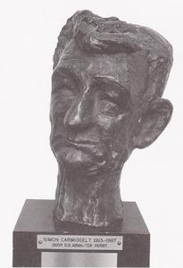 Portret van Simon Carmiggelt (1913-1987)