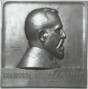 Portret van Rudolf Magnus (1873-1927)