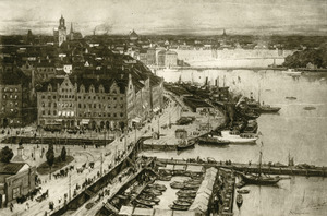 Gezicht op Stockholm
