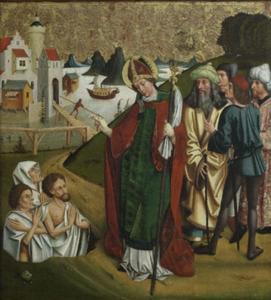 Sint Nicolaas brengt drie mannen tot leven