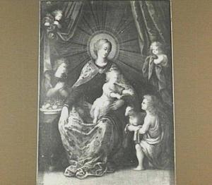 Maria met kind en de H. Johannes