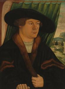 Portret van een edelman