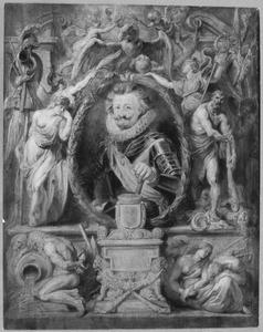 Portret van  Charles Bonaventure de Longueval, Comte de Bucquoy (1571-1621
