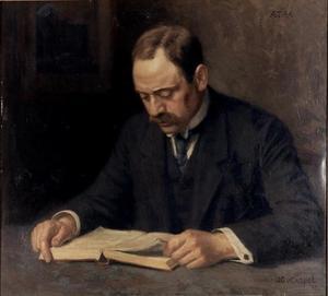 Portret van Henri Polak (1868-1943)