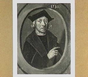 Portret van een man, waarschijnlijk Hillebrant Jansz. den Otter, echgenoot van Margriet Boelensdr.