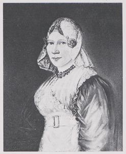 Portret van Symentje Hendriks Taconis (1801-1846)