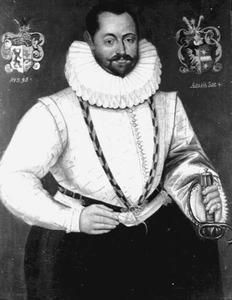 Portret van Enno van Diepholt (1554-1629)