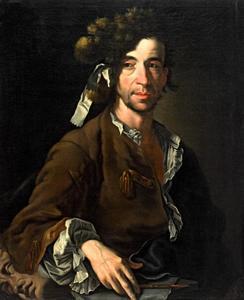 Portret van de beeldhouwer Paul Egell (1691-1752)