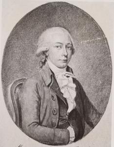 Portret van Jacob Hendrik Boode (1764-1826)