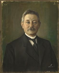 Portret van Cornelis van der Most (1869-1925)