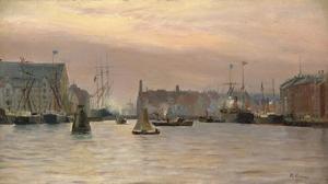 Haveningang bij Kopenhagen