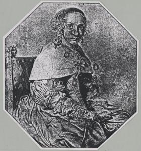 Portret van Margaretha van Teffelen